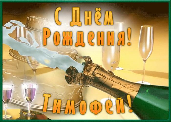 Поздравления с днем рождения тимофей прикольные